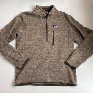 Patagonia Brown Men's Pullover Fleece